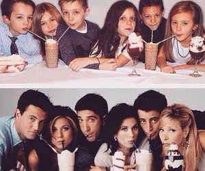 friends, Joey, and phoebe image
