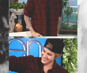 wallpapers, justin bieber, and justin bieber on ellen image