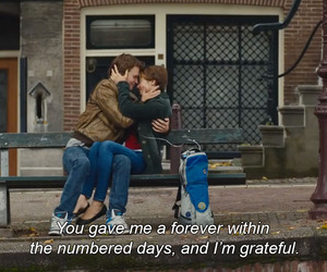 the fault in our stars, quotes, and love image
