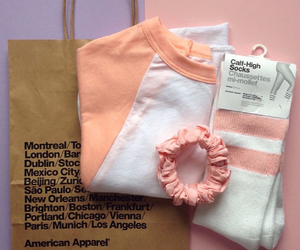 aesthetic, peach, and pastel image