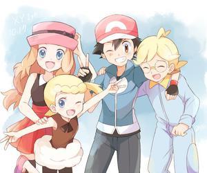 pokemon, serena, and anime image