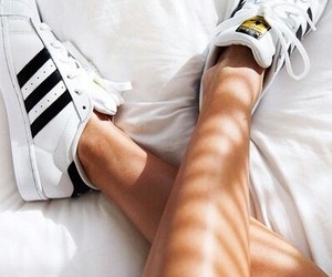 adidas, bed, and shoeheaven image