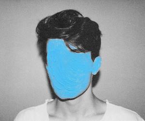 boy, blue, and art image