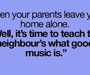 music and home alone image