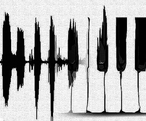piano and love image