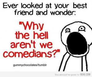 funny, comedian, and friends image