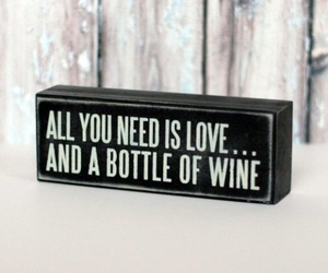 quote, love, and wine image