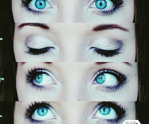 beauty, blue, and eyes image