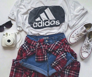 adidas, cool, and hotpants image