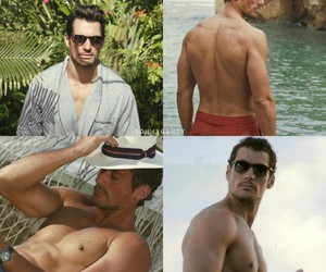David Gandy and m&s image