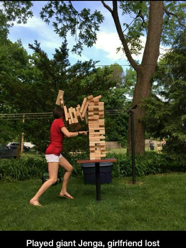 Jenga and funny pictures image