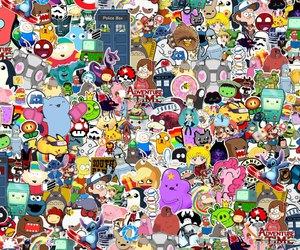 cartoon and adventure time image