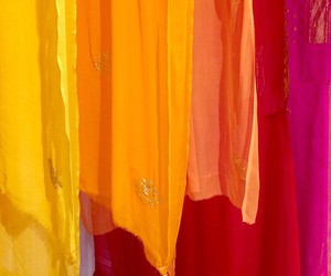 color, fabric, and rainbow image