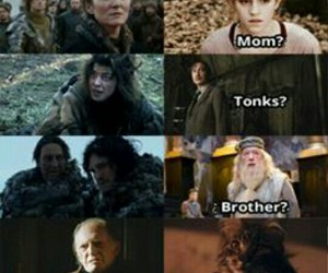 harry potter and game of thrones image