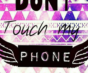 handy and dont touch my phone image
