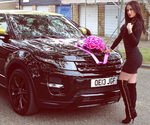 bow, gift, and rangerover image