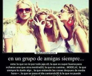 amigas, chicas, and frases image
