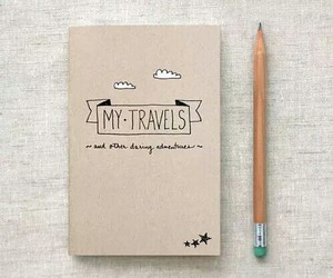 travel, book, and Dream image