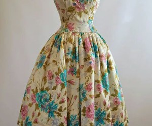 dress, vintage, and fashion image