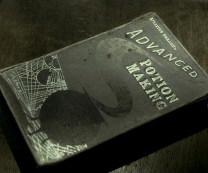 harry potter, book, and half-blood prince image
