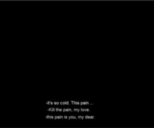 black, pain, and text image