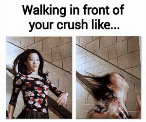 crush, funny, and teen wolf image