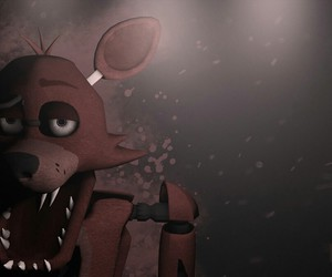 foxy, wallpaper, and five nights at freddy's image