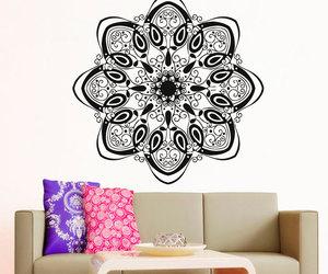 home decor, sticker, and mandala image