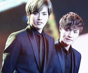 kris, lay, and exo m image