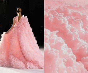 clouds, Couture, and fashion image