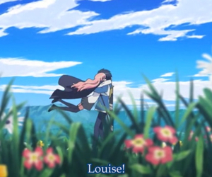 anime, couple, and louise image