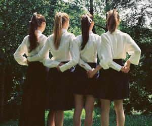 girl, uniform, and women image