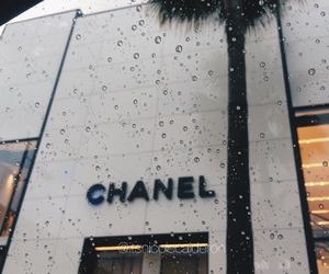 chanel, rain, and luxury image