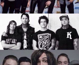 andy, bands, and pierce the veil image