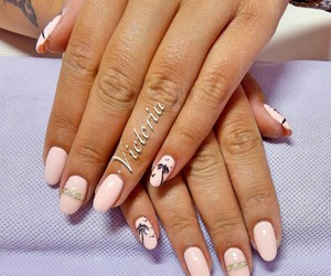 fashion, gel, and nails image