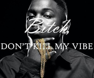 quote, bitch, and kendrick lamar image