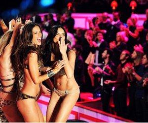 girl, Adriana Lima, and Victoria's Secret image