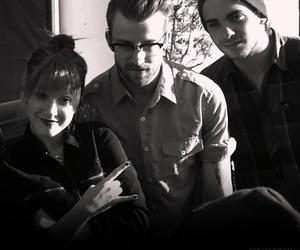 hayley williams, jeremy davis, and paramore image