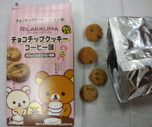 rilakkuma and food image