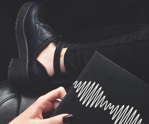 black, arctic monkeys, and grunge image