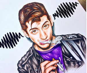 alex turner and draw image