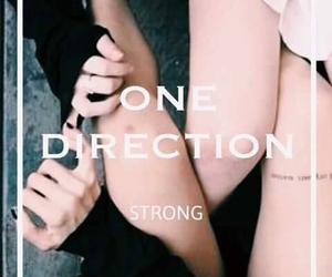 song, louistomlinson, and strong image