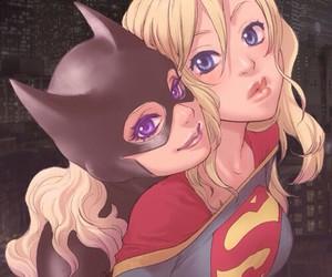 batgirl, Supergirl, and batman image