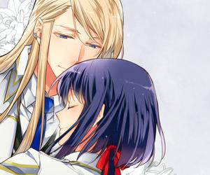 anime, couple, and otome game image