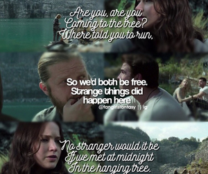 movies, song, and the hunger games image