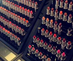 lipstick, makeup, and cute image