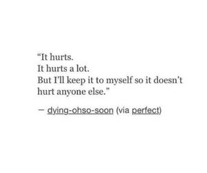 quotes, sad, and hurt image