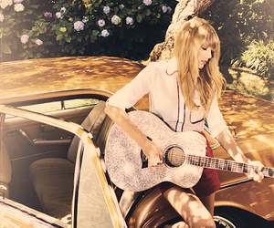 Taylor Swift, guitar, and Swift image