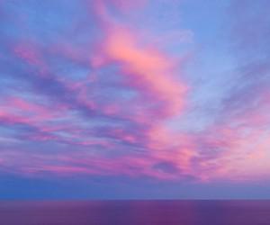 sky and pink image