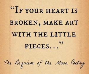 broken heart, if, and heart is broken image